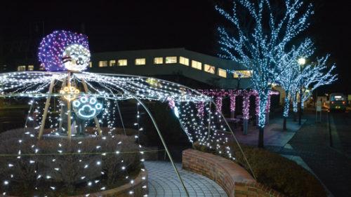 〈八郎潟町〉プロジェクト8プレゼンツ イルミネーション大作戦 ▷点灯式はにぎわい企画が目白押し