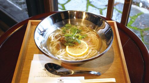 ヤマモ味噌醤油醸造元 YAMAMO GARDEN CAFE▷歴史ある味噌醤油醸造元に 伝統×現代を融合した空間が