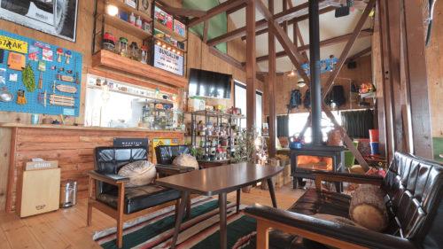 【冬のカフェvol.10】BUNGALOW▷冬季営業がメインの平屋のお店はアウトドア感満載な店内が魅力