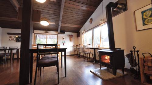 【冬のカフェvol.12】café 岳 DAKE▷ログハウスで雪国ならではの時間を