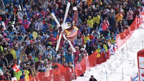 2019FISフリースタイルスキー ワールドカップ秋田たざわ湖大会▷世界トップレベルの滑走を生で