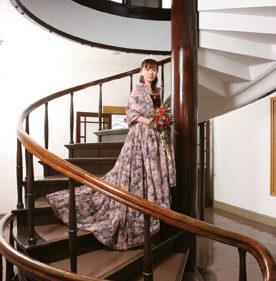 〈小坂町〉小坂鉱山事務所 ▷明治のレトロな洋館でドレスアップ