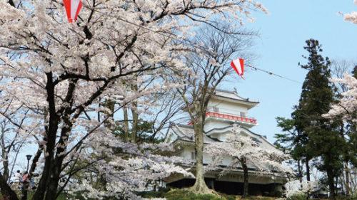 〈秋田市〉千秋公園桜まつり▷露店やイベントでにぎわう桜まつり