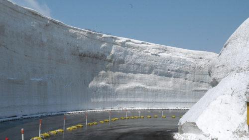 〈にかほ市〉鳥海ブルーライン開通 ▷鳥海山5合目までの観光道路が開通
