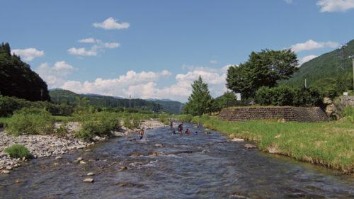〈藤里町〉教えて! さかなとりのプロ!▷親子揃って楽しめる夏の川遊び