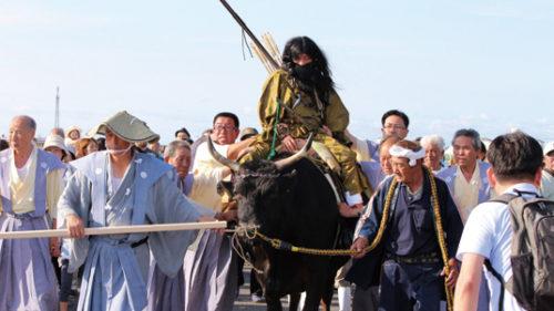 〈潟上市〉東湖八坂神社例大祭  ▷国の重要無形民俗文化財指定の奇祭