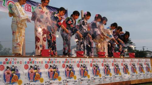 〈横手市〉第16回 よこての全国線香花火大会▷国産線香花火で遊ぶ参加型の大会