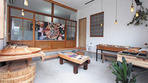 佐藤木材容器 ショールーム▷温もり溢れる木の器に見て触れて