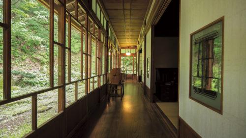 cafe 久助▷凛とした空気に包まれた 自然の中の古民家カフェ