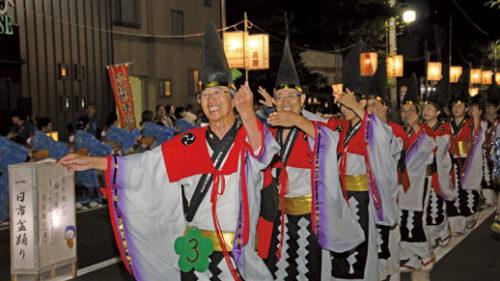 〈八郎潟町〉一日市盆踊り ▷オリジナリティ溢れる衣裳にも注目を