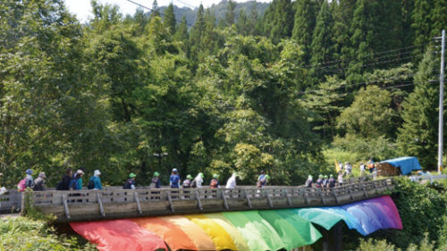 〈上小阿仁村〉かみこあにプロジェクト2019▷美しい里山と新しい芸術文化の融合