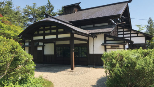〈美郷町〉坂本東嶽邸▷理想の村づくりに奮闘した坂本東嶽