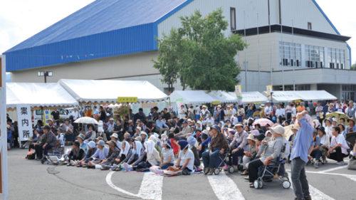 〈鹿角市〉第11回 かづの元気フェスタ▷鹿角市産業祭と福祉イベントの融合