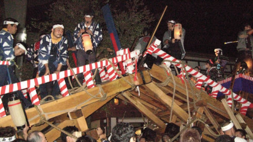〈仙北市〉角館祭りのやま行事▷角館の城下町で繰り広げられる祭り絵巻が人々を魅了