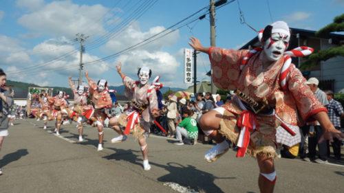 〈由利本荘市〉矢島八朔まつり ▷豊穣を願う矢島地域最大の祭り