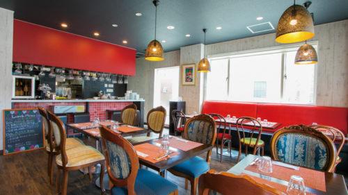 Lanterna Rossa restaurant&wine bar▷本場イタリアの伝統料理の味を知るカジュアル空間