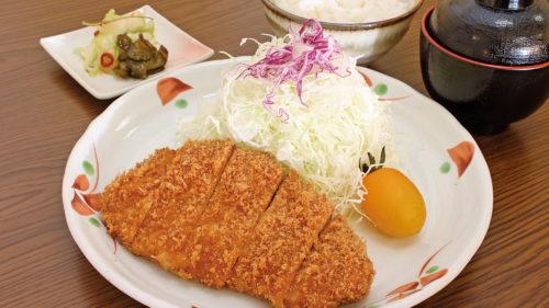 とんかつ咲々▷とんかつ専門店が登場 食べ応え◎の定食がラインアップ