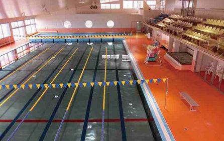 〈五城目町〉五城目町屋内温水プール▷温水プールで体力増進を図ろう