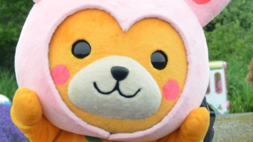 〈上小阿仁村〉かみこあに村PRキャラクター「こあぴょん」▷キュートな見た目で癒やしてくれる