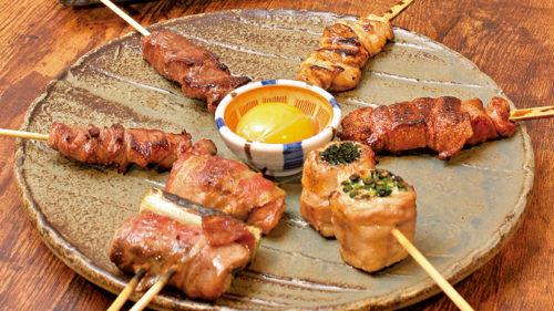 炭火焼 勇▷香ばしく焼き上げる炭火焼牛串&もつ鍋を堪能