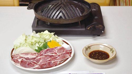 〈藤里町〉特産白神ラムセット▷隠れた名店で味わう特産ラム肉
