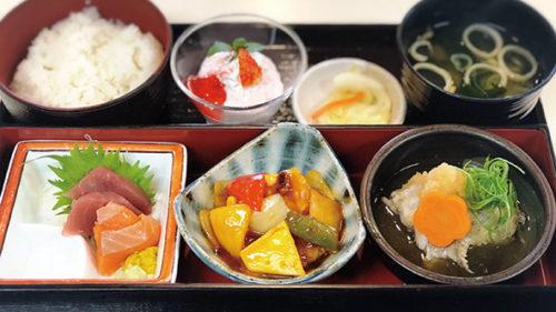 〈潟上市〉レストランなっぱ・はうすお弁当ランチ 和彩-WASAI-▷女性ウケ◎の弁当スタイルのランチ