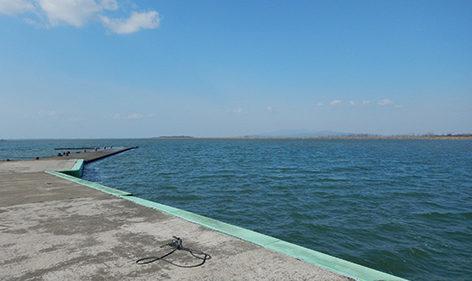 〈八郎潟町〉八郎湖▷全国の釣り人が集まる人気スポット