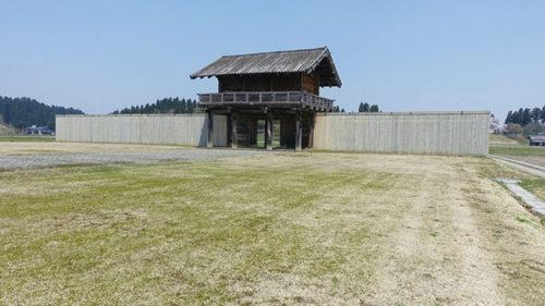 〈大仙市〉国指定史跡 払田柵跡▷歴史を感じる広大な城柵遺跡