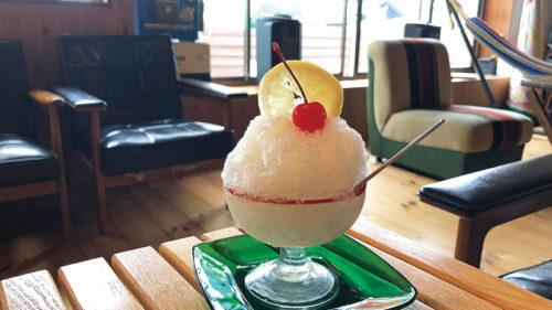 cafe bungalow▷かき氷が味わえる夏営業をスタート!