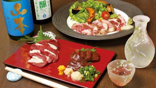 川反 日なた▷和食とお酒をこだわりの器で