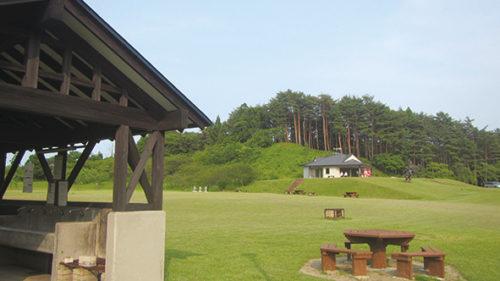 〈井川町〉日本国花苑キャンプ場▷豊かな自然に囲まれてレジャーを