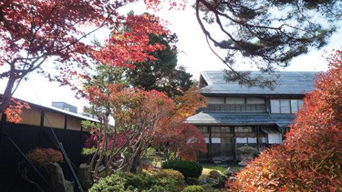 〈大仙市〉国登録有形文化財 旧本郷家住宅▷明治の秋田三大地主の邸宅