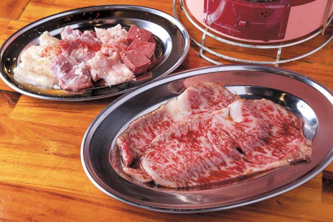 炭火焼肉・生ホルモン処 しょうちゃん▷新鮮な生ホルモンと厳選した和牛