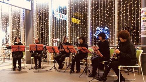〈湯沢市〉9月の月イチ♪コンサート 〜落ち葉のコンサート〜▷木管楽器とギターの2部制
