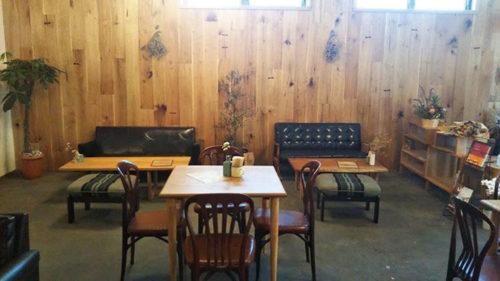 HOLTO cafe&gallery ホルト▷木の温もり溢れる空間が移転