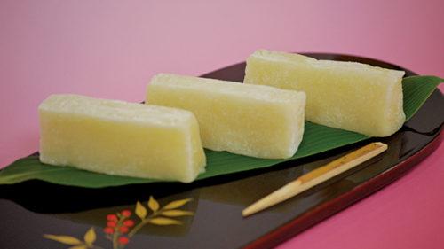 〈北秋田市〉バター餅▷ひと口でやみつきになる素朴な味