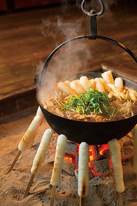 〈大館市〉本場大館きりたんぽ▷絶品きりたんぽ鍋で心から温まって