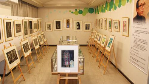 〈にかほ市〉木版画家池田修三展「モノクロームから〜」▷池田修三作品の変遷を感じられる