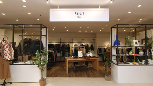 Parc.1 HAPPY SHOP パルクアン 秋田オーパ店▷新しいエクスペリエンスを提案