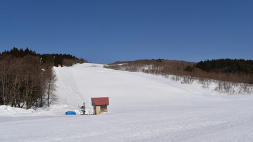 〈にかほ市〉巾山スキー場▷家族連れや初心者にオススメ