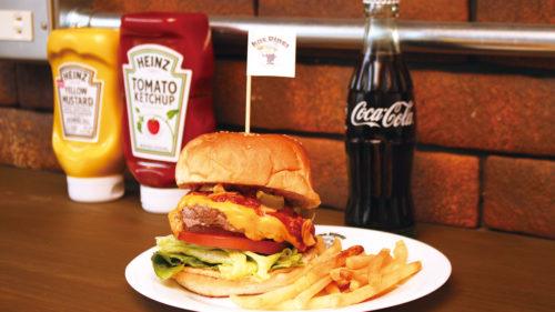 Leather&Diner knc ケーエヌシー▷レザーショップがリニューアル アメリカンバーガーをお届け