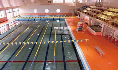 〈五城目町〉五城目町屋内温水プール▷温水プールで体力の増進を図ろう