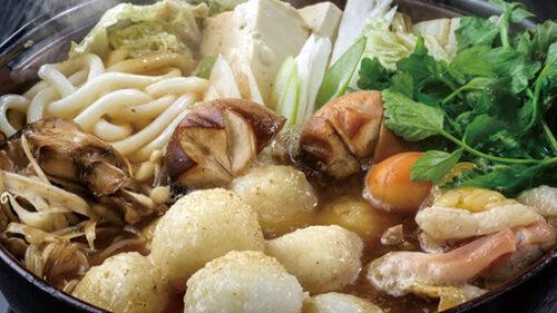 〈五城目町〉赤倉山荘 なめたら温泉▷癒やしの湯と名物のだまこ鍋を満喫