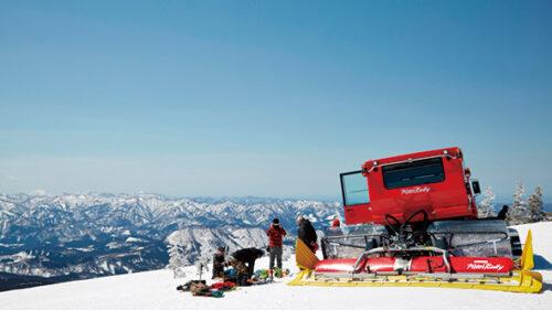 〈北秋田市〉森吉山 ピステンツアー▷雪上車に乗って春山を楽しもう