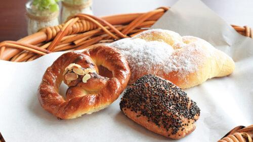 手作りパンの Pain de campagne Minato▷イートインもできるベーカリー 子どもが喜ぶ菓子パンが豊富
