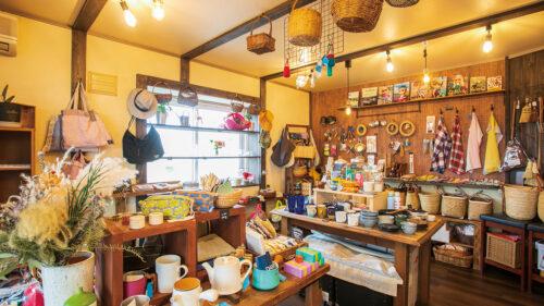 原の町ZAKKA店▷自宅を改装した隠れ家的雑貨店 訪れる度に新たな出逢いが