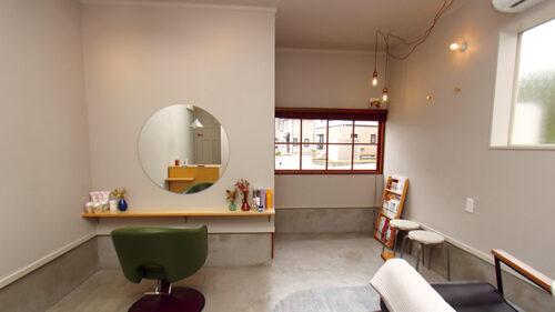 パーマくるくる▷個室で居心地の良い美容室