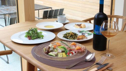 食事とワイン おしゃべりきのこ▷人気イタリアンがリ・ボーン! 珠玉のコースを堪能できる