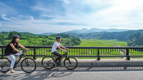 〈男鹿市〉男鹿自転舎▷大自然や街中をe-Bikeで駆け抜ける