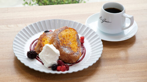 カフェレストラン ル・グルニエ▷雑貨店が手掛けるカフェレストランで自家焙煎コーヒーを